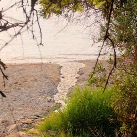 Kechria Beach - small creek at small paradise