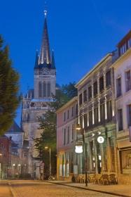 Dom in Aachen bei Nacht
