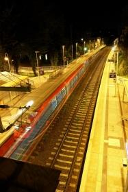 Ein Geisterzug am Bahnhof Aachen Schanz