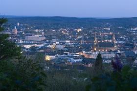Panorama Aussicht vom Lousberg in Aachen