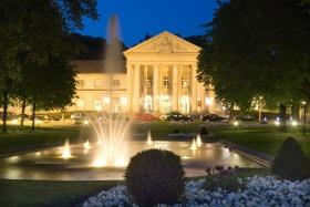 Das Casino von Aachen am Abend