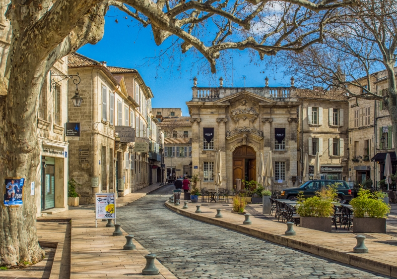 Avignon - Old City - Place Crillon