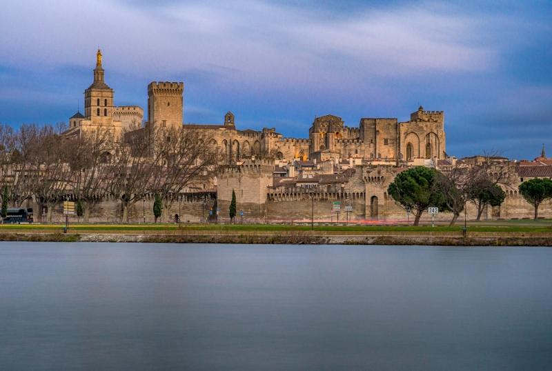 Avignon aan de Rhone