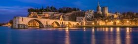 Avignon at Night