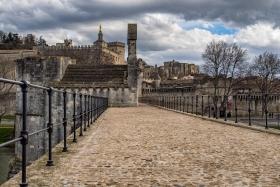 Sur le Pont d\'Avignon - Op de brug van Avignon