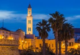 Cattedrale di San Sabino in Bari from the Harbour