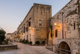 Die Stadtmauer von Bari