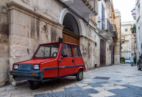 Dreirad in Bari