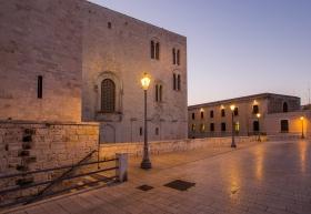 Stadtmauer Bari - Blick auf San Nicola