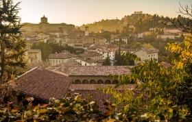 Bergamo uitzicht