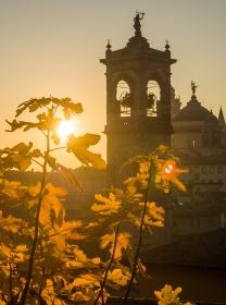 Kerktoren van San Pancrazio Bergamo