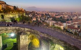 Nacht in Bergamo