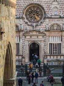 Ingang van de Basilica di Santa Maria Maggiore