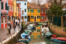 Burano Canal View - Venice