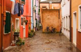 Burano inside - Venice