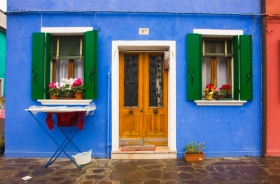 Burano Blue house - Venice