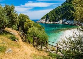 Damouchari (Pilion) - uitzicht over het strand