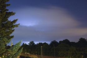 Thunder cell / Gewitterzelle Aachen
