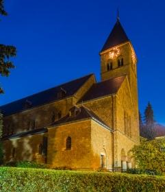Kerk van Haanrade aan de zuidkant