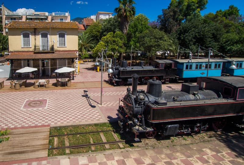 Train Station Building in Kalamata