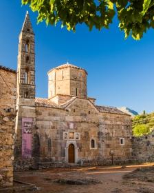 Agios Spyridon Kerk in Oud Kardamili