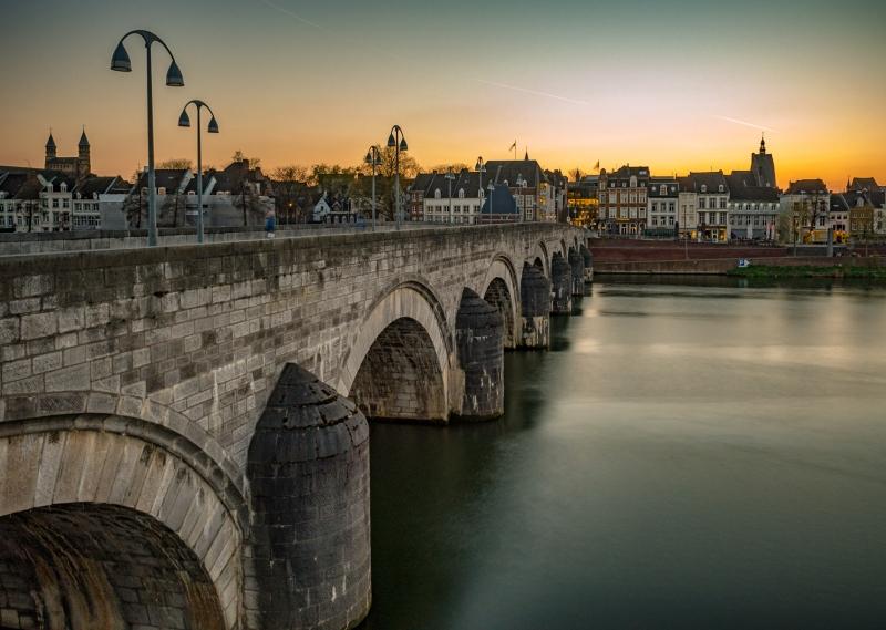 Maastricht met de Sint Servaasbrug