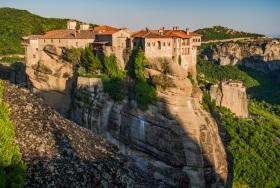 Monastery Varlaam before Sunset