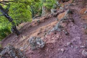 Wanderpfad zur Vulkanspitze