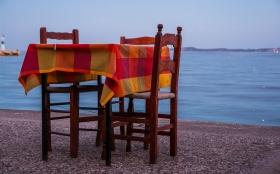Dinner in Methana