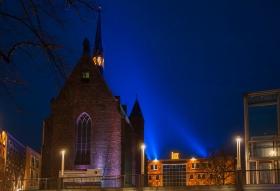 Marienburgkapel met Lux in Nijmgen