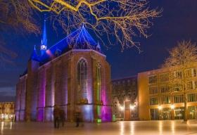 Marienburgplein met Marienburgkapel in Nijmegen / Nimwegen