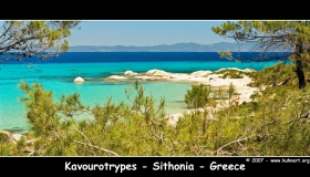 Beach : Kavourtrypes on Sithonia - Chalkidiki