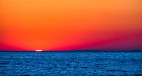 Minimalistic Sunset