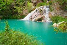 Waterval bij Polilimnio