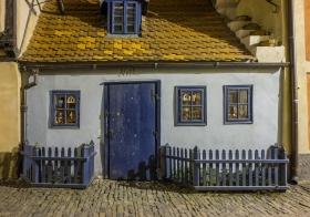 Huis in de Alchimistengasse Praag