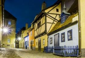 Het gouden straatje bij nacht