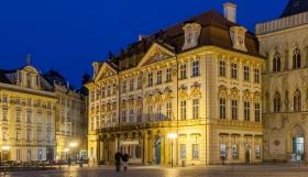 Palais Goltz-Kinsky Prag zur blauen Stunde