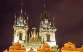 Türme des Teynkirche