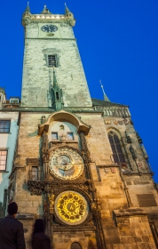Altstädter Rathaus Prag mit astronomischer Uhr