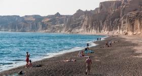 Santorini - Vlichada Beach