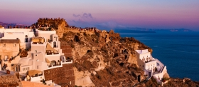 Santorini - Oia Castle - Sunset