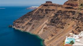 Santorini Pool met uitzicht