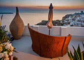 Santorini - Oia - Zonsondergang