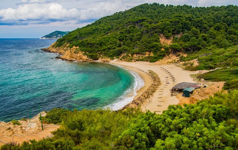Skiathos - Agkristos Mandraki Strand