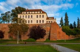 Hotel Schloss Tangermünde von unten