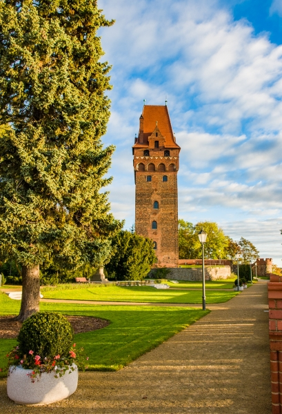 Kapitelturm vom Schloss Tangermünde