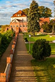 Goldene Stunde am Schloss Tangermünde