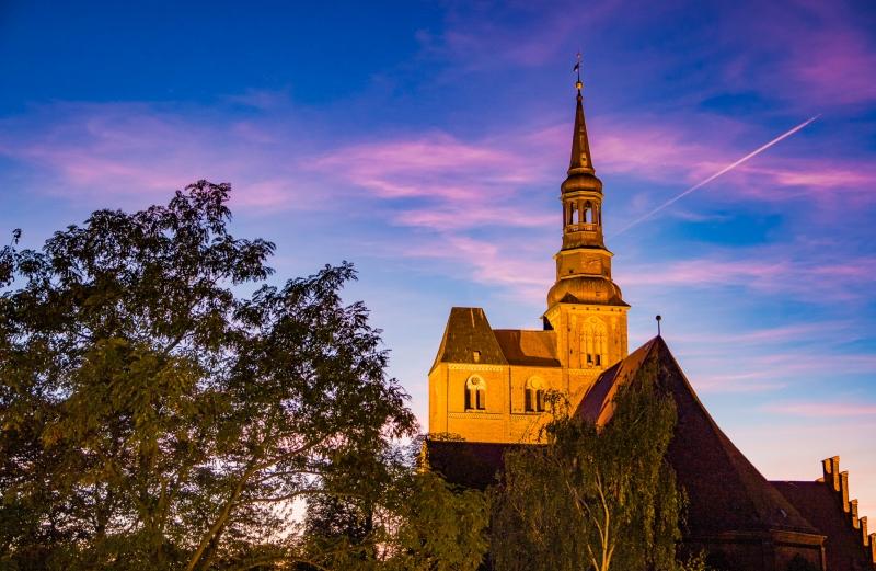 Stephanskirche Tangermünde bei Nacht