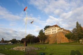Burg oder Schloss Tangermünde auf der Festung