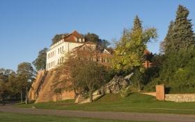 Burg Tangermünde - Seitenansicht
